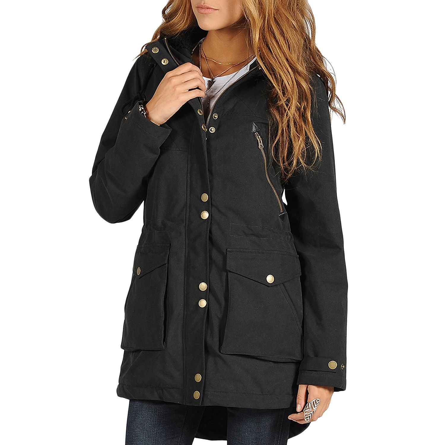 Volcom Walk On By Parka Jacket - Women's | I WANT | Pinterest ...