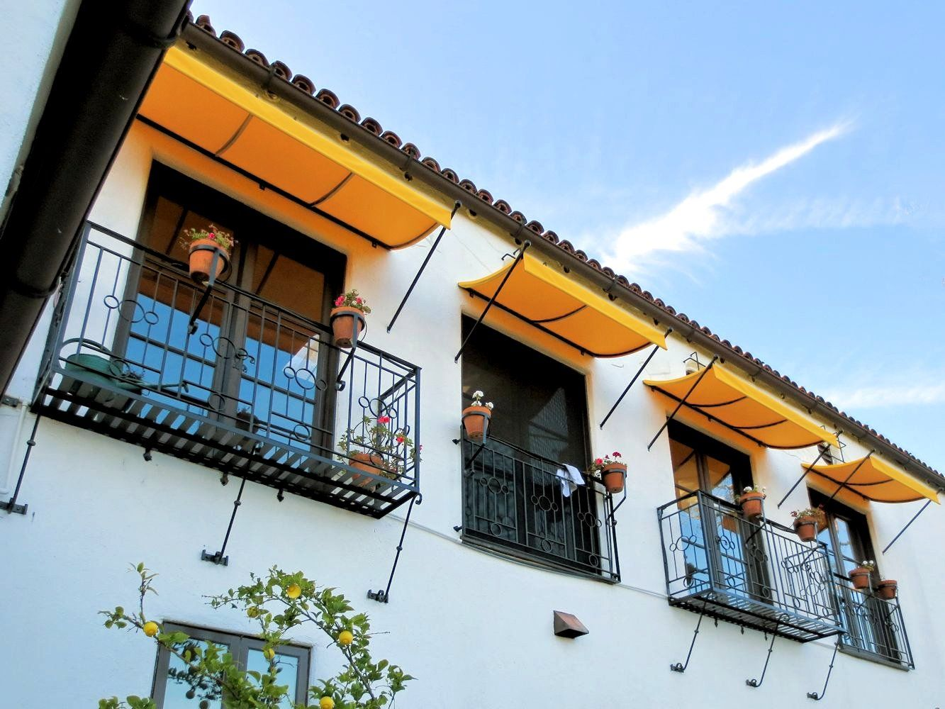 Spear Awnings By Superior Awning 800 780 0201 Custom Awnings Awning Spanish Revival