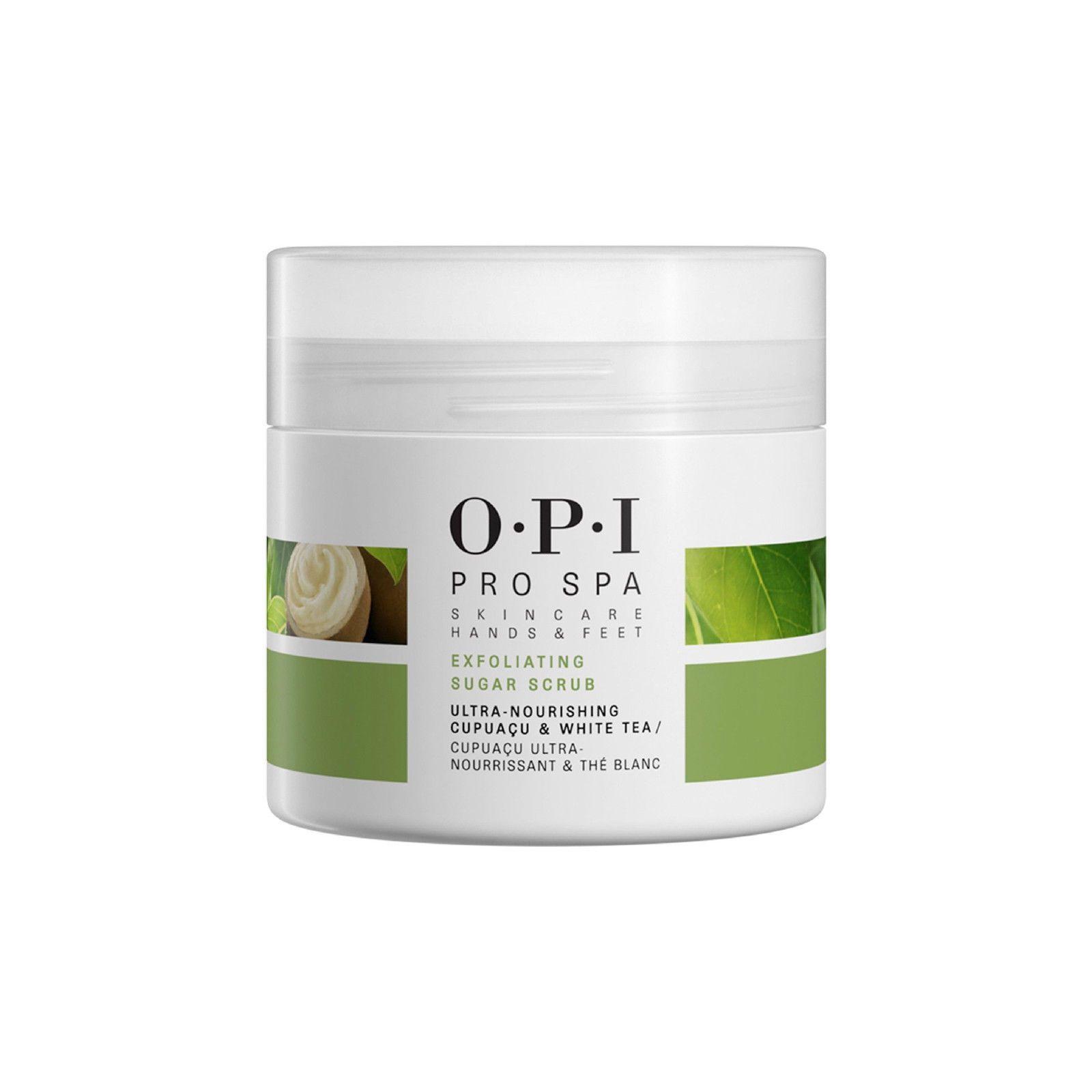 Spas Baths And Supplies 36430 Genuine Opi Pro Spa Skin Care Hands And Feet Exfoliating Sugar Scrub 136g 4 8oz Skin Care Spa Sugar Exfoliating Scrub The Balm