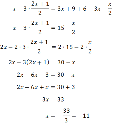 3/x+1-1/2=1/3x+3 - solution - Get Easy Solution