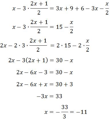 Resolvemos La Ecuación De Primer Grado X 3 2x 1 2 3 3x 9 3 2 X X 2 Cursos De Matematicas Matematicas Interactivas Educacion Matematicas