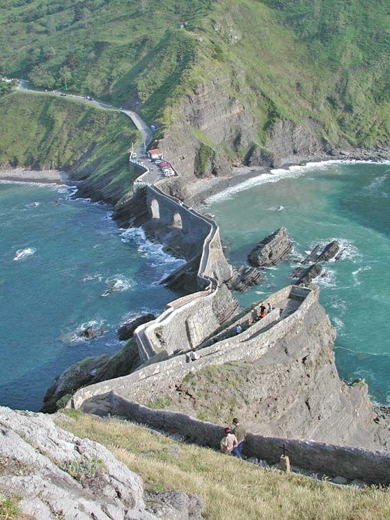 San Juan De Gaztelugatxe In Bermeo Vizcaya Basque Country Spain Paraje Natural Viajes Turismo