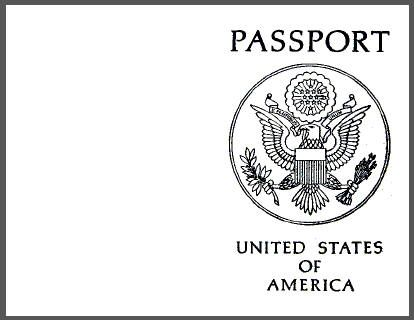 picture regarding Printable Passport Template known as Printable blank pport and all yourself need to have towards realize in the direction of host