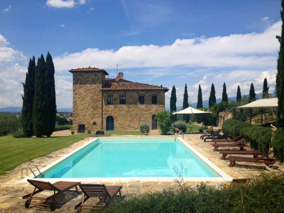 Villa In Bucine Italy The Medieval Tuscan Town Of Bucine Is Only