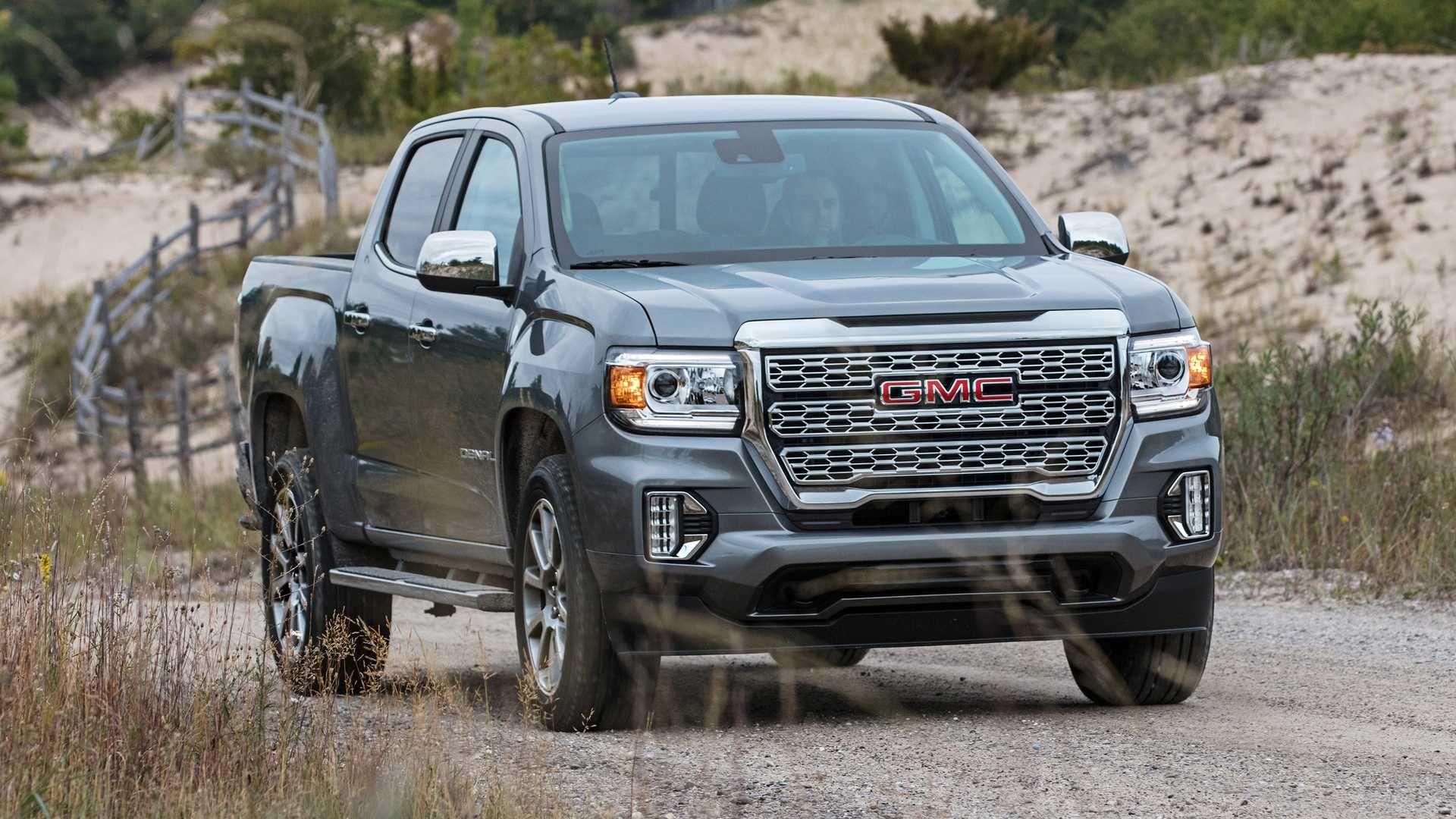 Gmc Reveals The 2021 Canyon Denali S Heroic Grille In 2020 Gmc Canyon Chevrolet Colorado Gmc