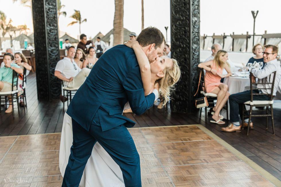 warm and sunny wedding hosted at CaboAzulResort
