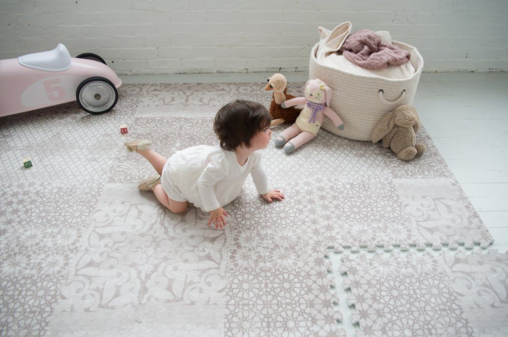 Gorgeous idea for the home - a beautifully designed baby play mat ...