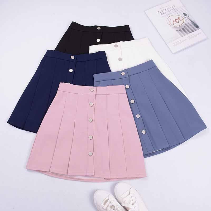 8ffd78e415 pastel Cute pleated skirt street fashion store aesthetic fashion harajuku  kawaii kfashion