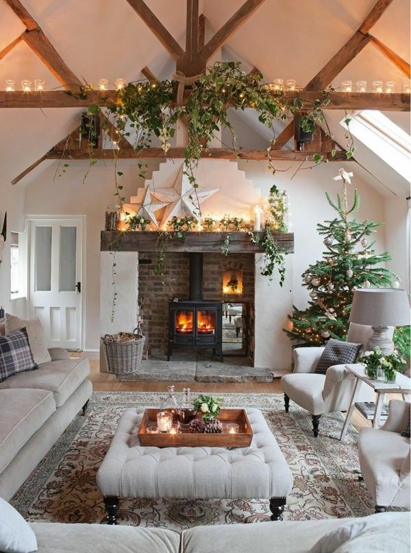 Photo of Top White Christmas Decorations Ideas – Christmas … living room christmas decoration ideas