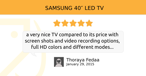Check ‪#‎Reviews‬ & compare ‪#‎Prices‬ for ‪#‎TV‬ ‪#‎Samsung‬http://bkam.me/1BZvhHd‪#‎Bkamreviews‬ ‪#‎UAE‬