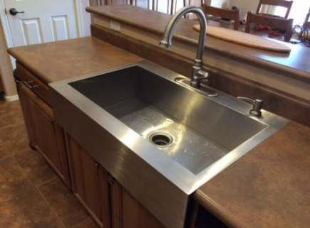 Farmhouse Sink Stainless Steel Drop In 60 Ideas For 2019