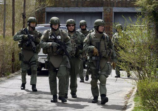 The Cape Cod, Massachusetts, Police department SWAT team search ...