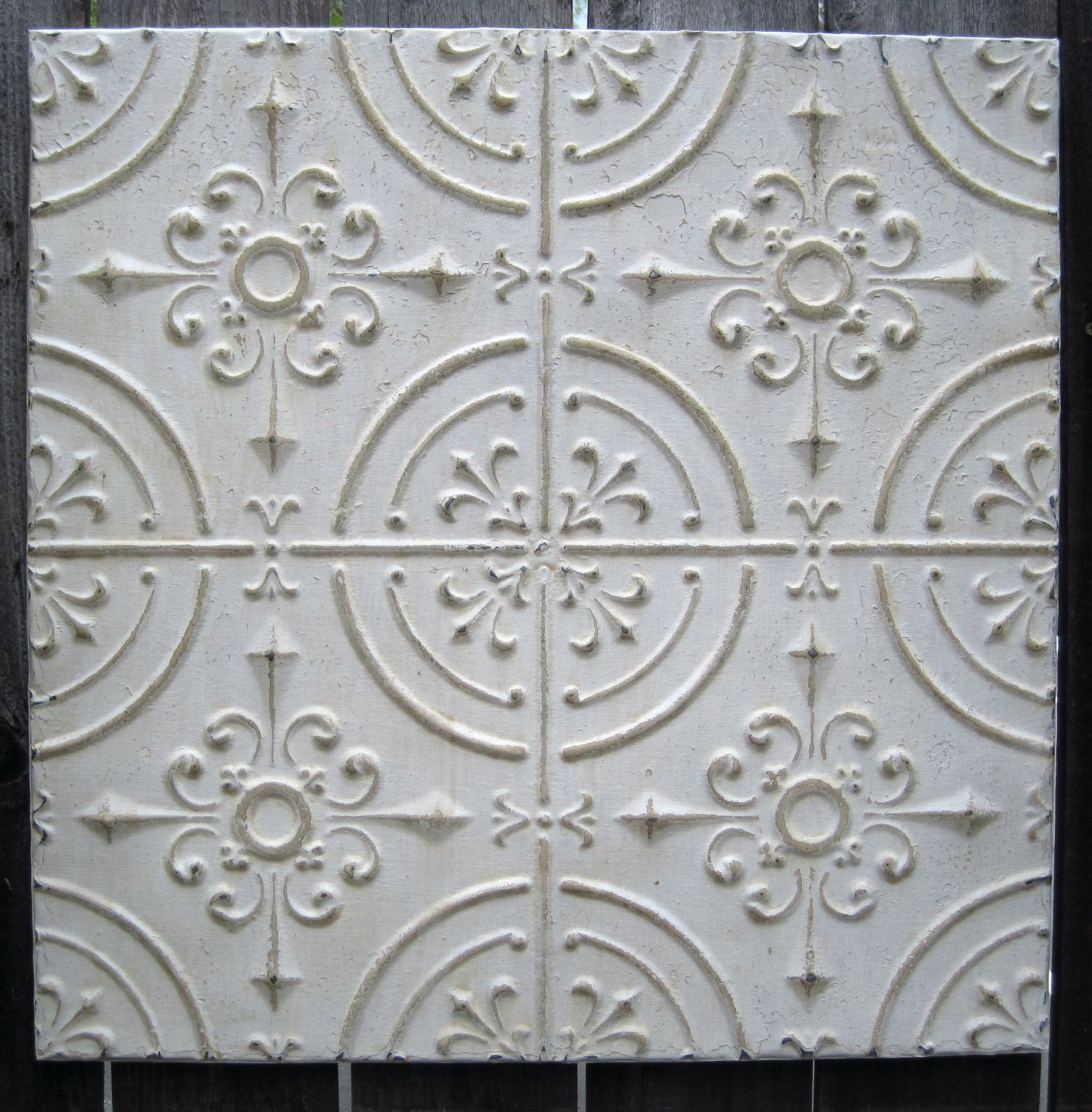 Unusual 20 X 20 Ceramic Tile Tiny 2X4 Subway Tile Regular 3X6 Subway Tile Backsplash Acoustic Tile Ceiling Old Adhesive For Ceiling Tiles FreshAluminum Tiles Backsplash 2\u0027x2\u0027 Antique Ceiling Tin Tile Circa 1910. Off White FRAMED Ready To ..