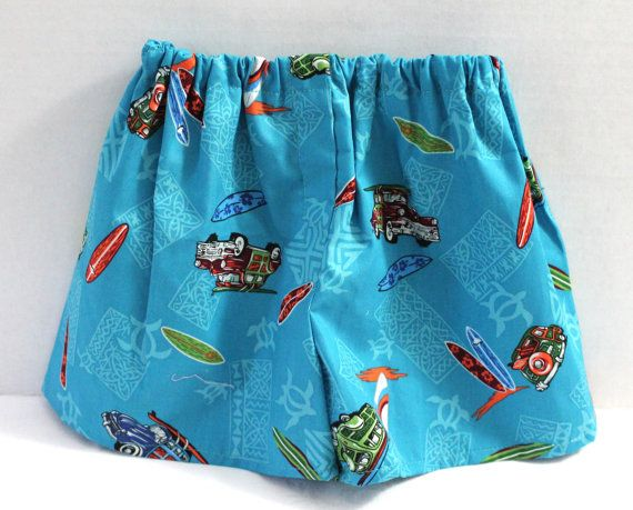 Baby Boy Surfing Boxer Shorts Diaper Cover Surfer by MyLilBaby, $11.99