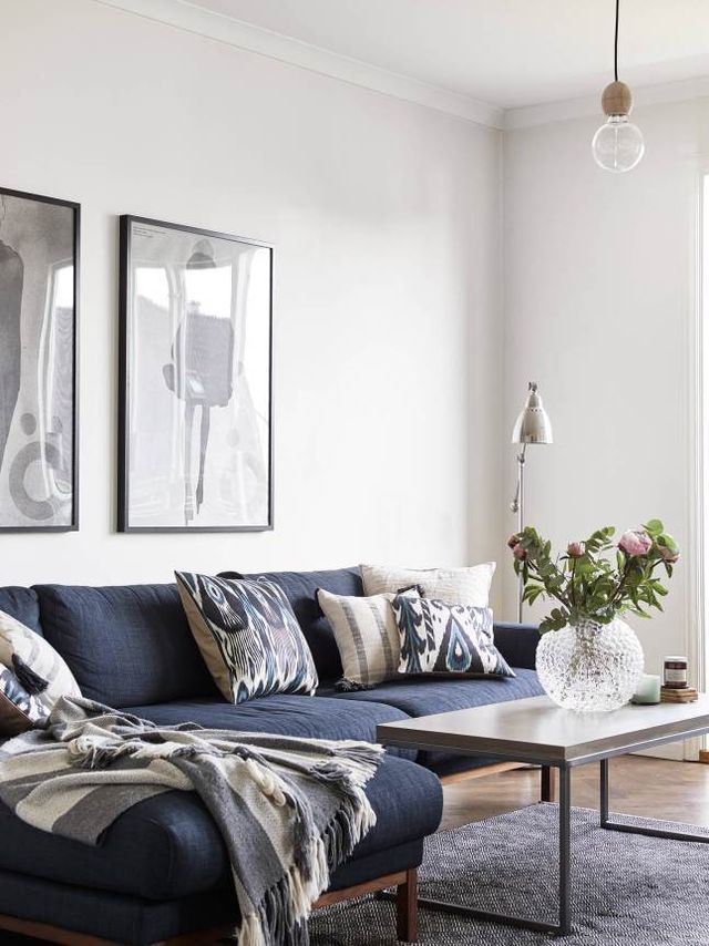 Great 25+ Best Blue Couches Ideas On Pinterest | Navy Couch, Blue Sofas And Blue  Sofa Inspiration