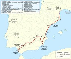 Vía Augusta - Wikipedia, la enciclopedia libre