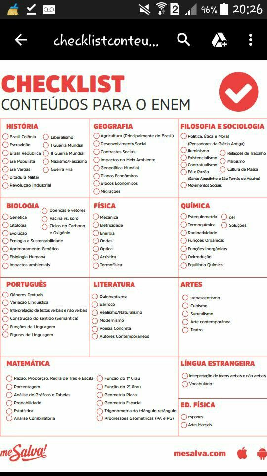 Pin De Rafaela Lw Em Estudos Estudos Para O Enem Planos De