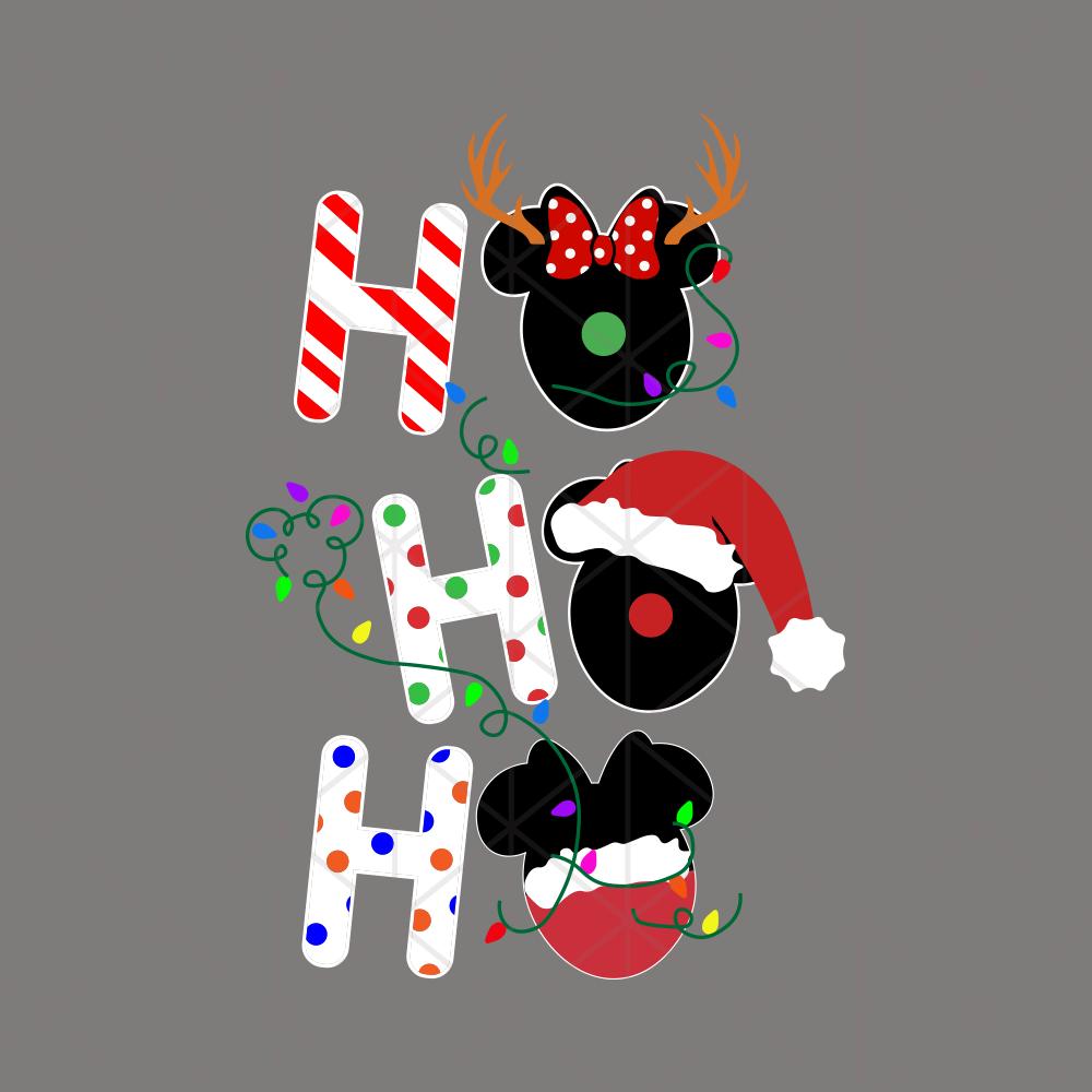 hohohomickeychristmassvgfilesforsilhouettefiles