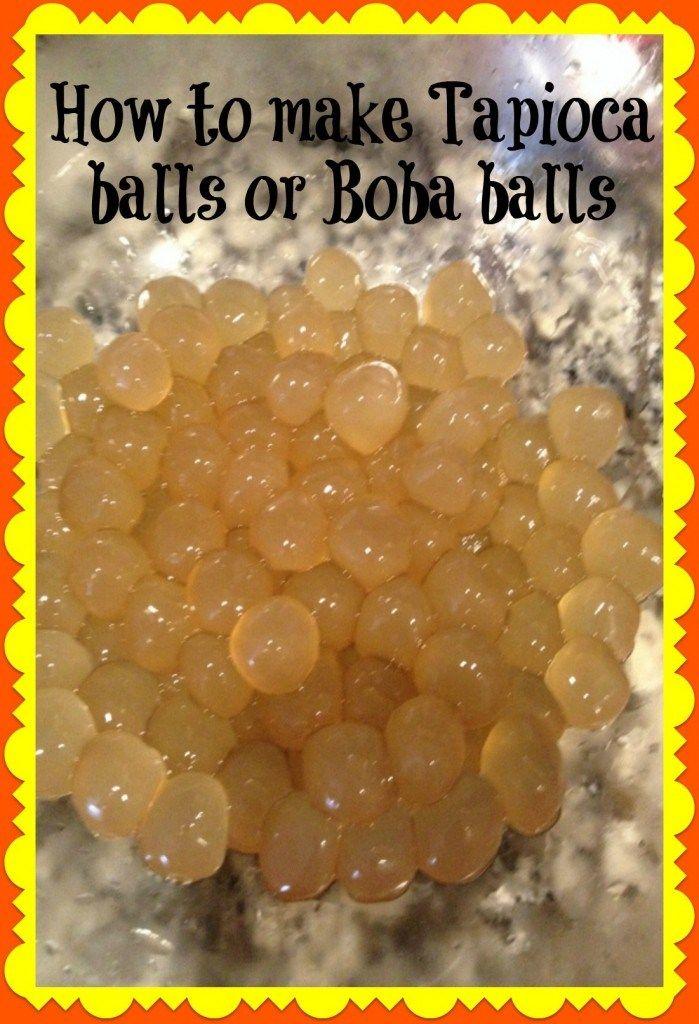tapioca balls or boba balls recipe tapioca balls recipe food recipes balls recipe tapioca balls or boba balls