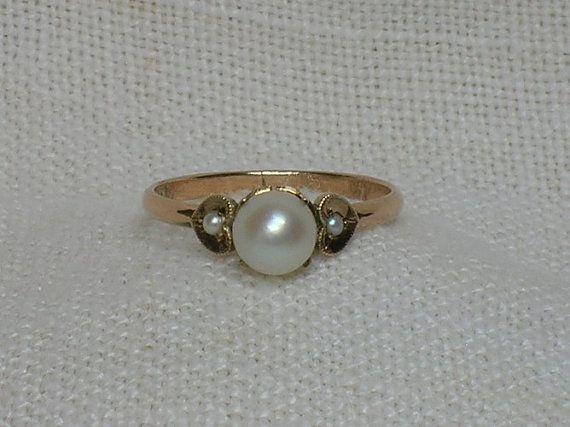 Vintage Rose Gold Ring