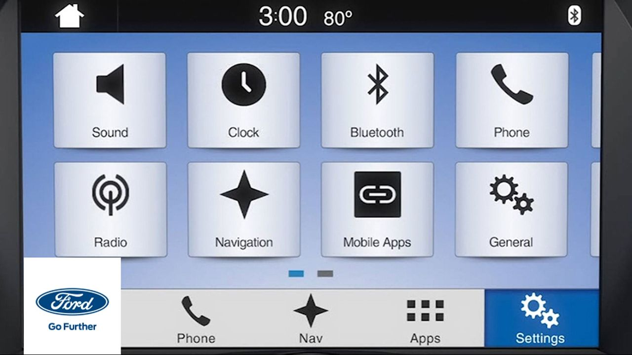 Sync 3 Overview Customizable Settings Sync 3 How To Ford