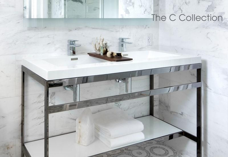 C Collection Furniture Wetstyle Small Bathroom Furniture Bathroom Console Bathroom Vanity