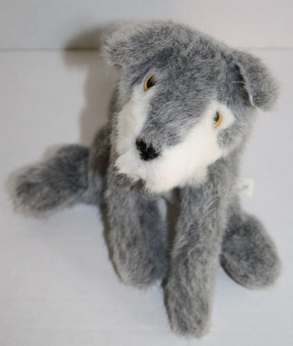 Small Of The Wild Wolf Plush Gray Toy 1995 Lightly Stuffed Animal 10