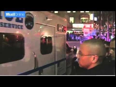 NYPD Officers Salute Their Fallen Comrades - YouTube