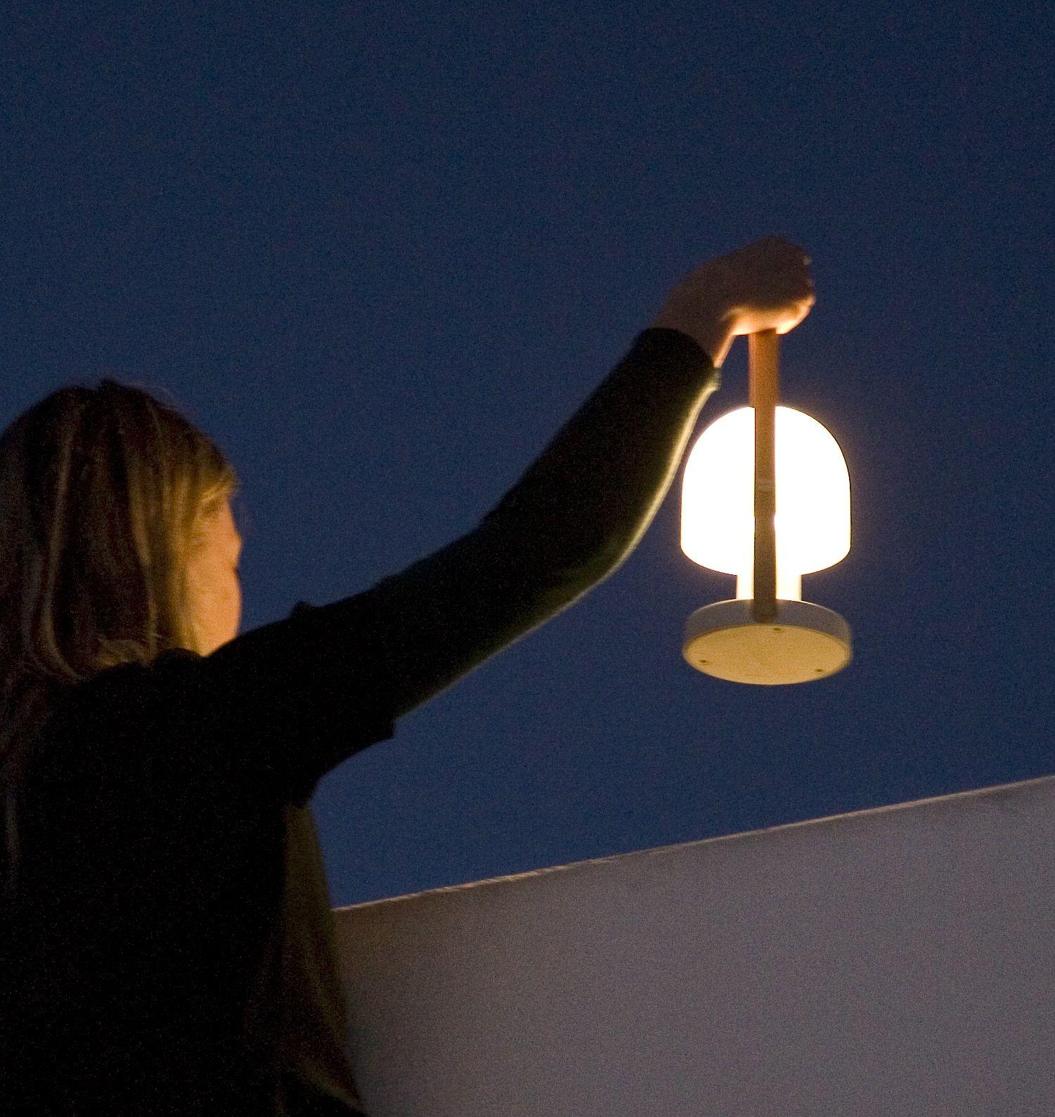 Lampe A Poser Follow Me Sans Fil Led Blanc H28 8cm Marset
