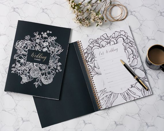 Wedding Journal Planner Book Diy Bride Diary