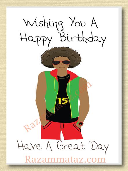 African American Boy Birthday Card B Birthday Cards For Boys