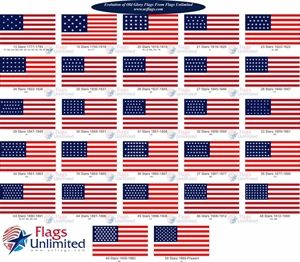 Evolution Of Old Glory Flags Old Glory Flag Old Glory Jesus Coloring Pages