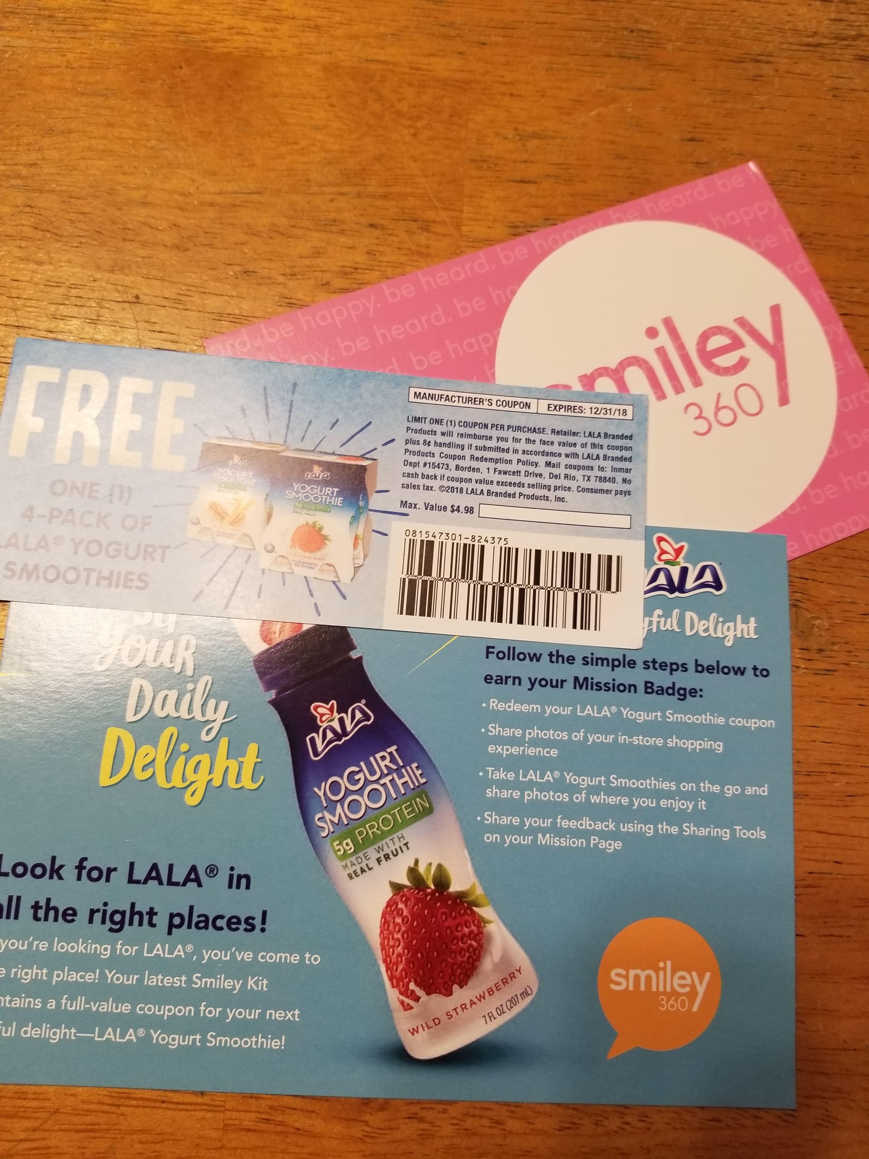 JoyfulDelight #LALADrinkableYogurt #freesample | Smiley360