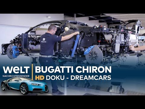 Bugatti Chiron - Hypercar mit 1500PS | Dreamcars HD Doku