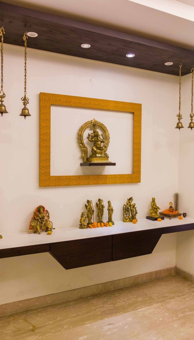 Simple Elegant Mandir Pooja Room Design Pooja Room Door Design Pooja Rooms