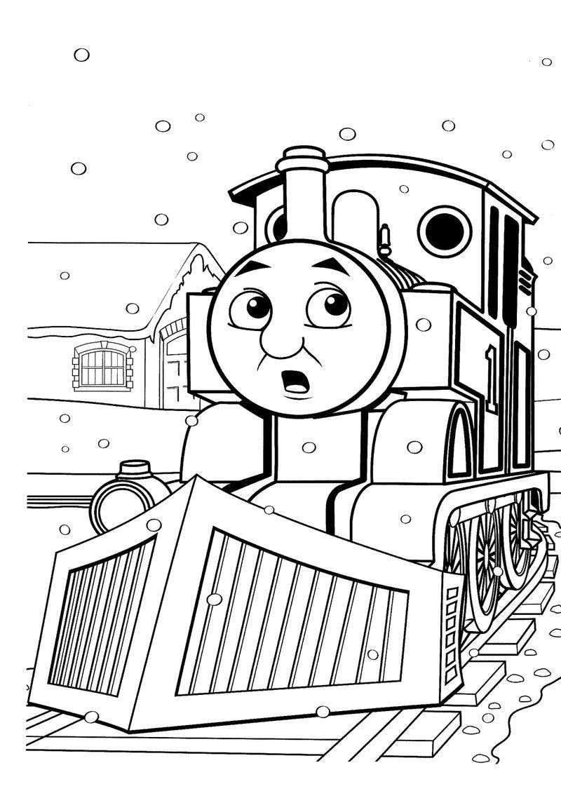 Thomas The Train Coloring Pages Ideas Train Coloring Pages Coloring Books Printable Christmas Coloring Pages