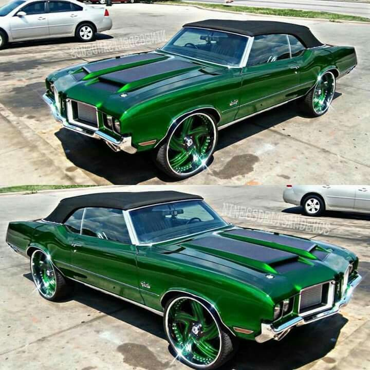 The Mean Green Custom Muscle Cars Donk Cars Classic Cars Muscle