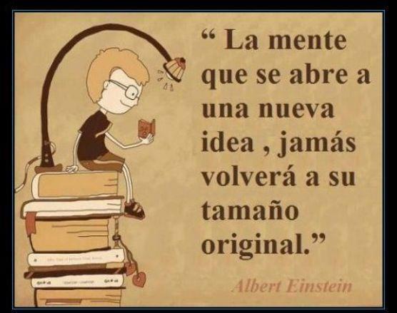 leer=abrir la mente