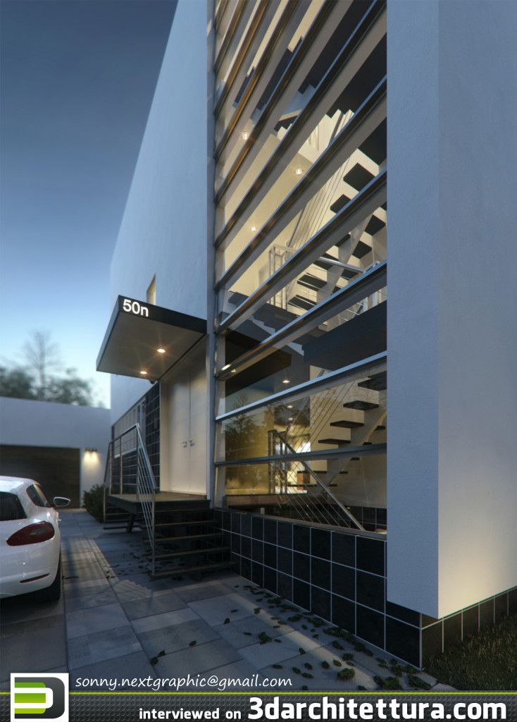 Sonny Ferian, render, 3d, architecture, 3darchitettura http://www.3darchitettura.com/sonny-ferian-3d-renders-for-architecture/
