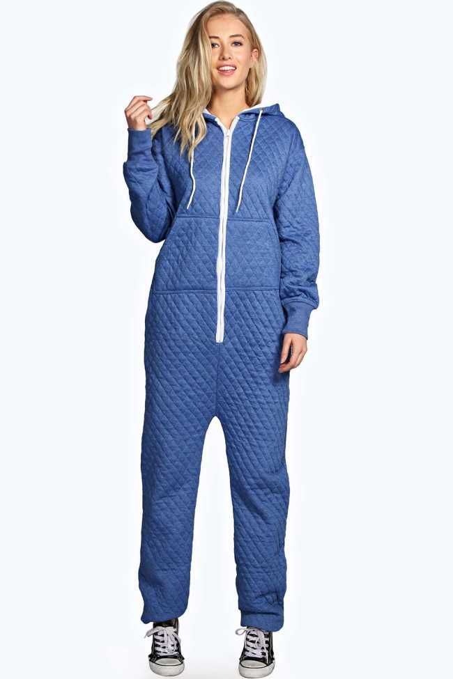 39433f9c55d4  20.00 Cosy Quilted Adult Womens Onesie