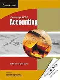 Cambridge IGCSE Accounting (Cambridge International Examinations) Paperback ? 26 Apr 2012