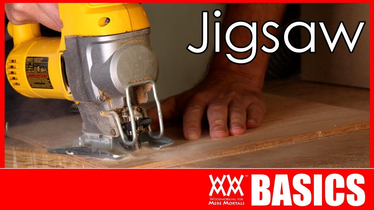 In this tutorial I cover the basics of how to use a jigsaw. It's one of the most useful tools you can use for woodworking. And it's affordable!