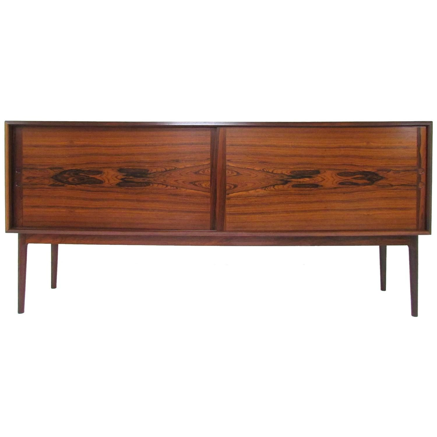 Danish Modern Rosewood Credenza By Fredrik Kayser For Viken Circa Early 1960s From A Unique Collection Of Antique And Modern Credenzas At Https Www 1stdibs
