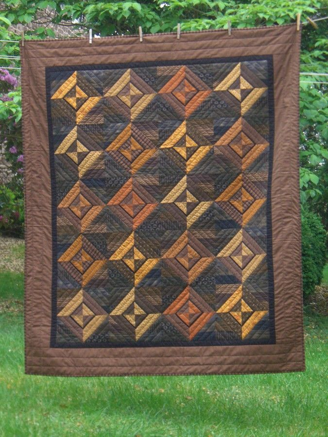 Quilt by Brenda Henning · Description: I made this quilt for a