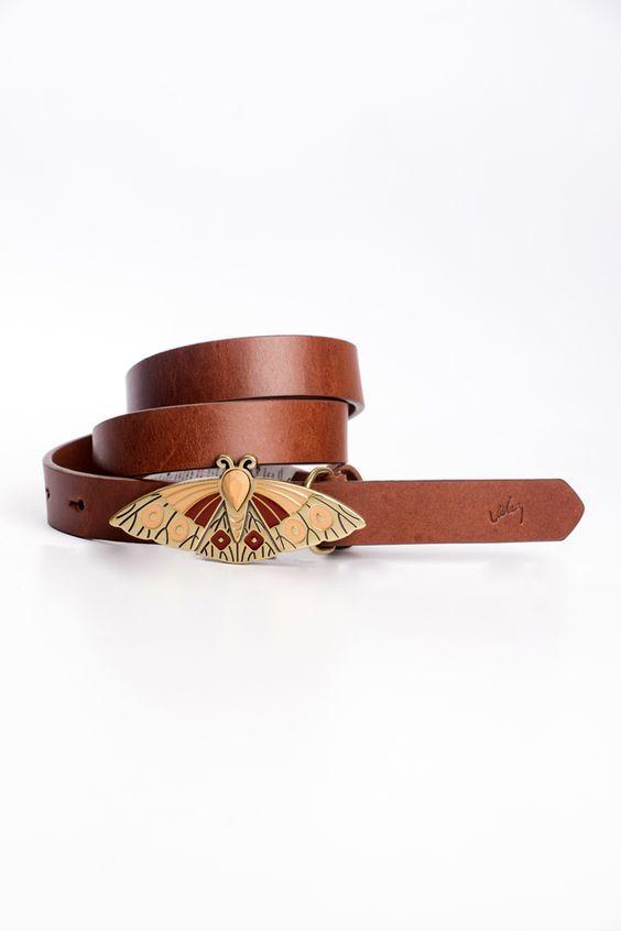 8dc18adabe840 Cinturón unifaz de cuero para mujer