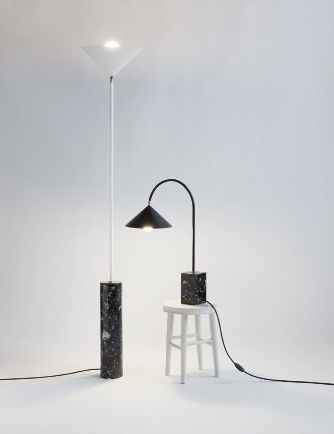 Moving Mountains . aspect floor  table lamp