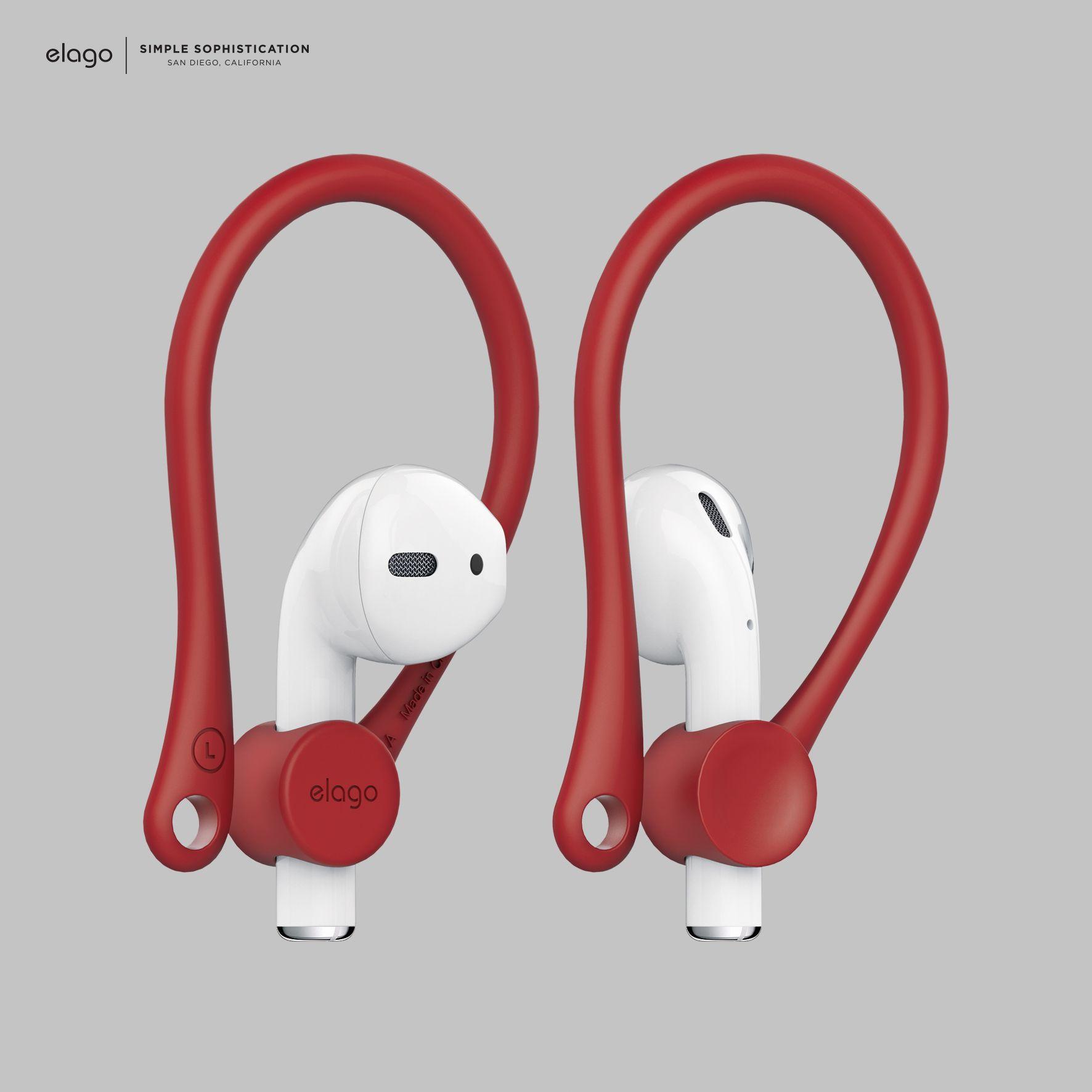 Elago Airpods Earhook Red Hook Design Elago Design