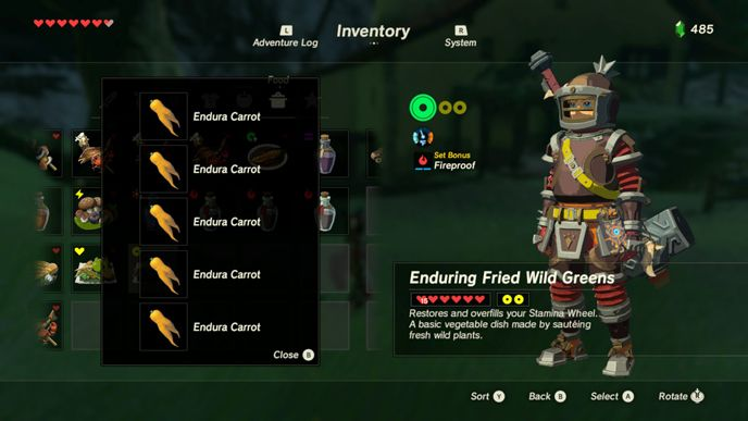 The 10 Best Recipes in Zelda Breath of the Wild