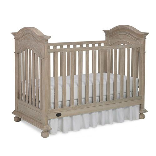 Naples Traditional Crib Driftwood And Luxury Baby Cribs In Baby Furniture