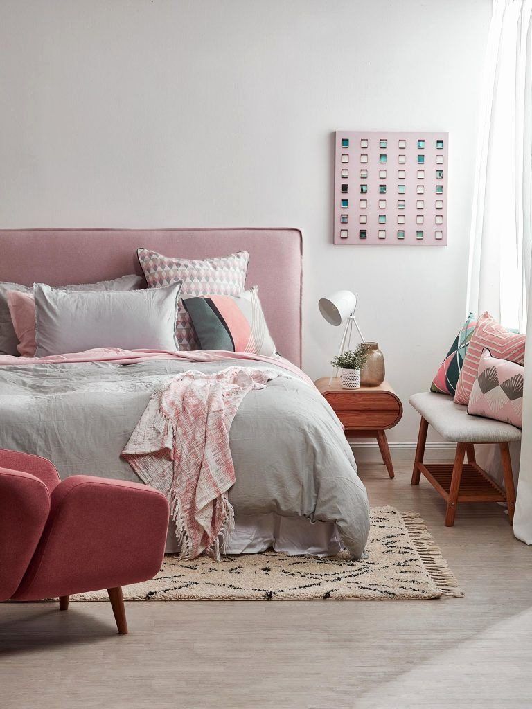 Pin On Fun Shapes Pastel Abstract Pattern Newest pastel pink bedroom